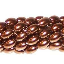 Czech Glass 6x4mm Pearls