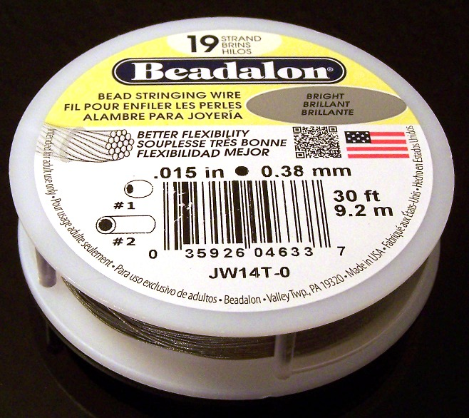 Beadalon Flexible Braided Wire
