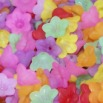 Acrylic Flower Beads - Style 2 - 6x12mm