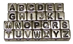 Combo Pack - 7mm Alphabet Beads - ALL 26 LETTERS
