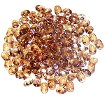 7.5 Grams - Superduo Beads - Crystal Celsian