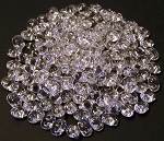 7.5 Grams - Superduo Beads - Crystal Silver Lined