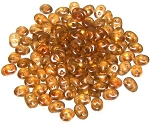7.5 Grams - Superduo Beads - Halo Sandalwood