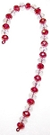 Candy Cane Ornament Beaded Jewelry Making Kit
