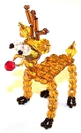 Reindeer Ornament Beaded Jewelry Making Kit