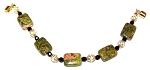 Unakite Obsession Bracelet Beaded Jewelry Making Kit