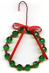 Wreath Ornament Beaded Jewelry Making Kit