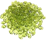 7.5 Grams of MiniDuo Czech Glass Beads - Olivine