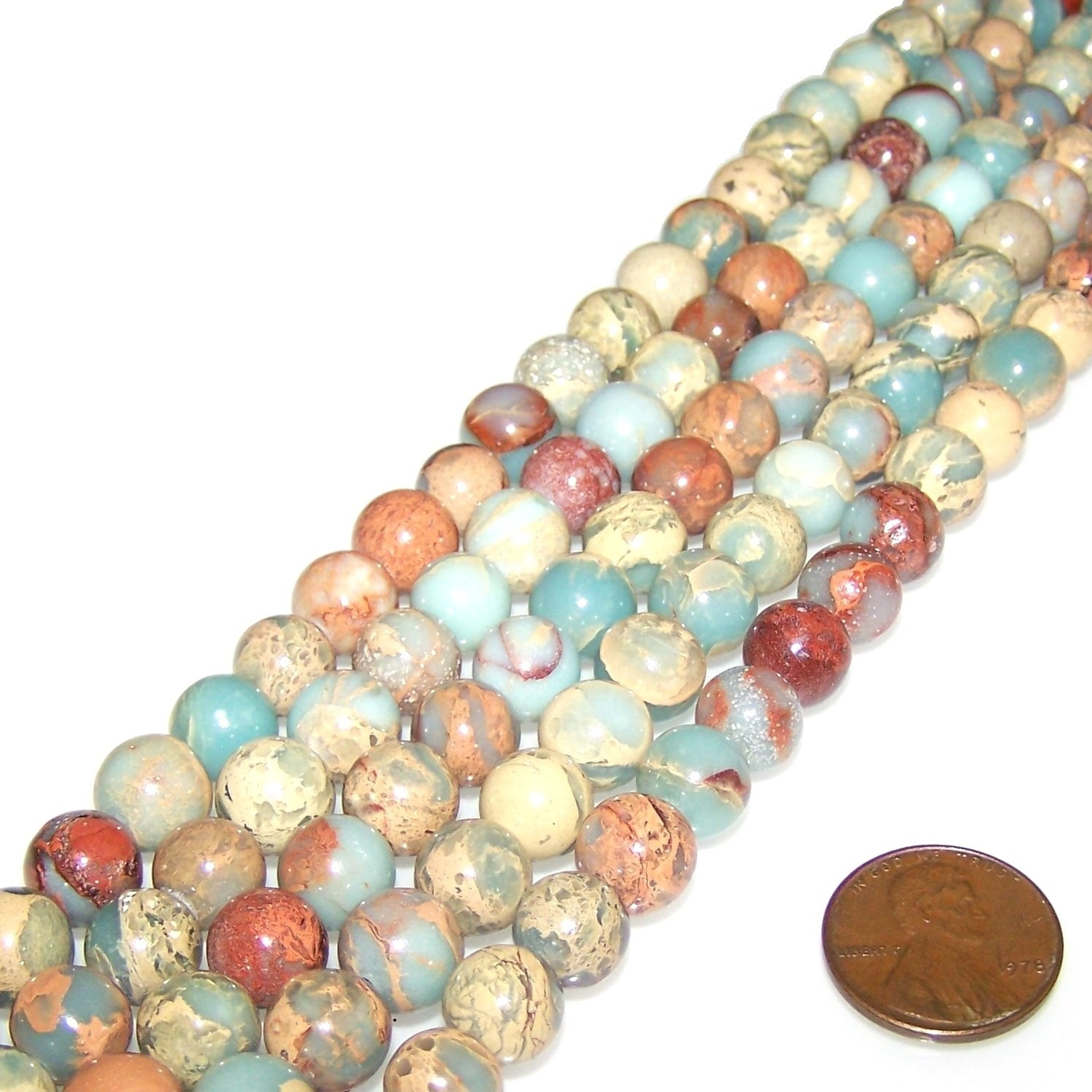 Gemstone Beads - Rounds - 10mm