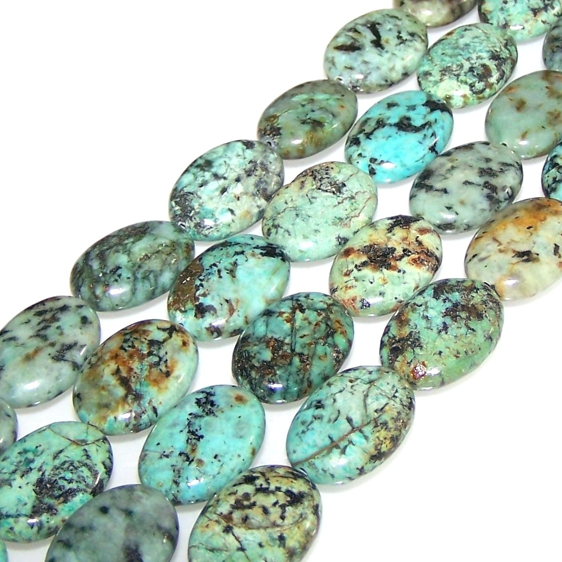 African Turquoise Beads