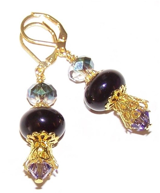 Arabian Nights Earrings Free Beaded Jewelry Making Pattern