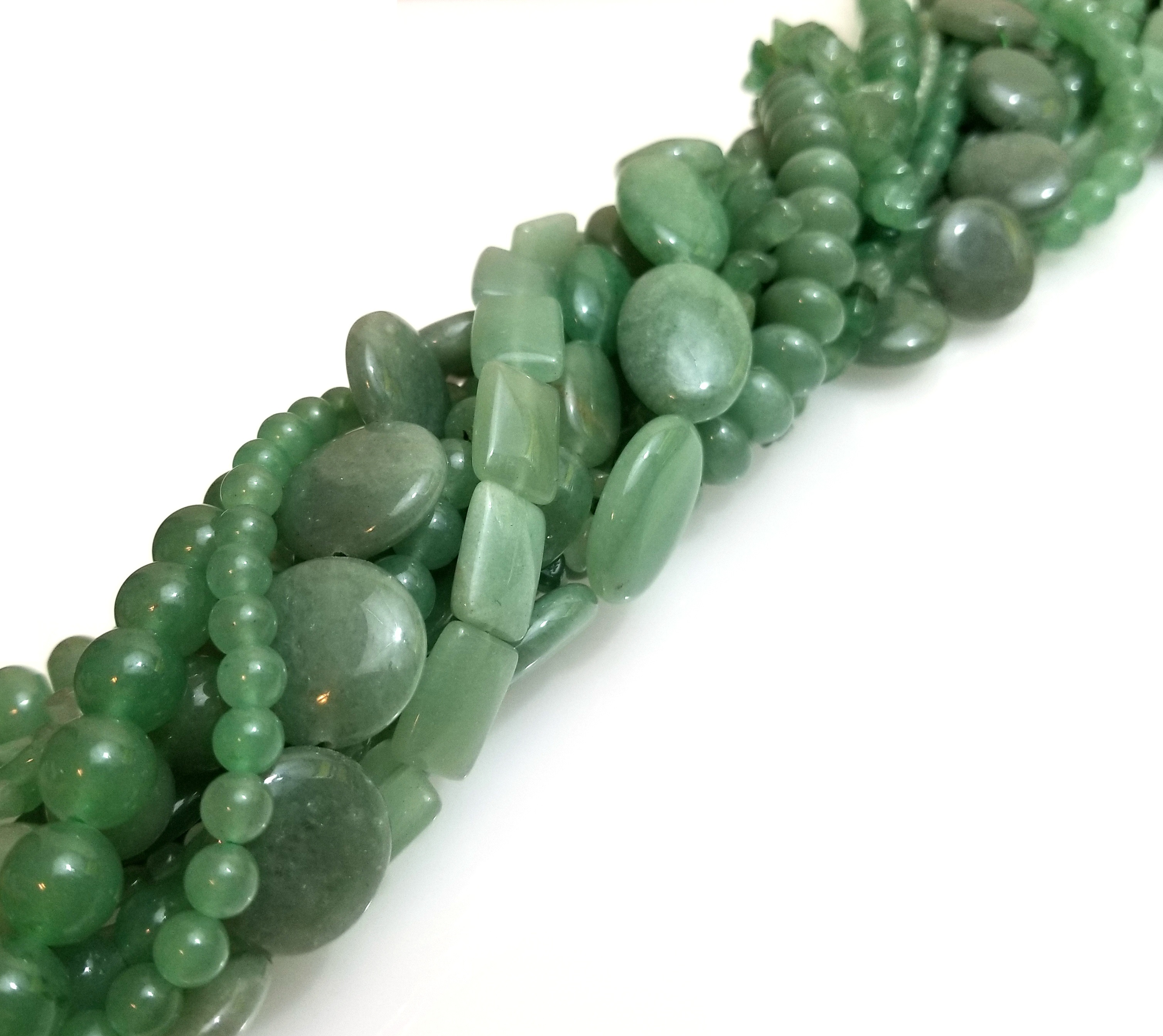 Aventurine Semiprecious Gemstone Bead Assortment