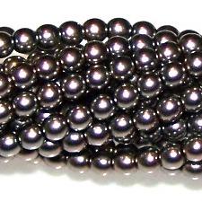 Latte Czech Glass 3mm Pearl Beads