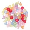 Acrylic Flower Beads - Style 4 - 7x10mm