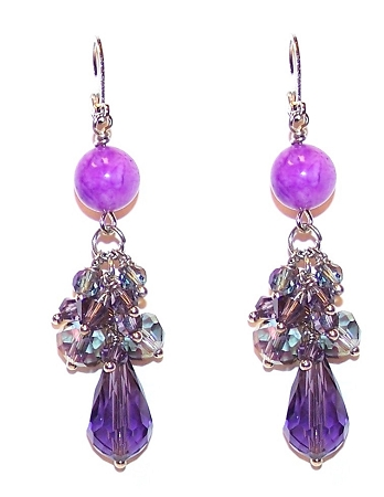 Cascading Jewels Earrings Free Beaded Jewelry Making Pattern