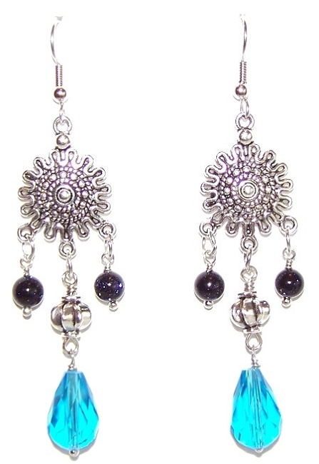 Drops of Moonlight Earrings Free Beaded Jewelry Making Pattern