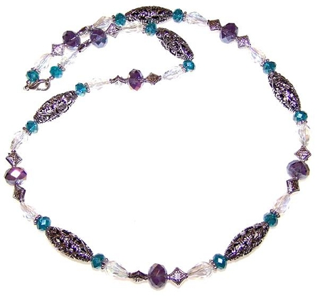 Island Jewel Necklace Free Beaded Jewelry Making Pattern