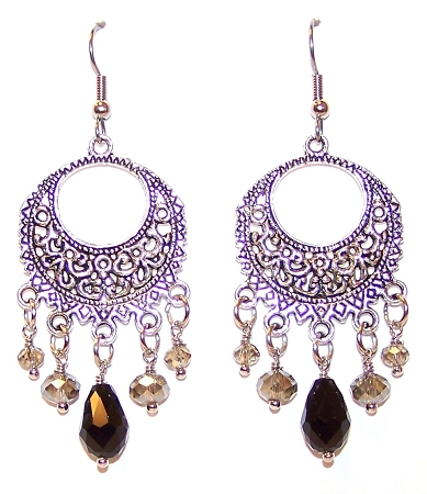 Luminous Moonlight Earrings Free Beaded Jewelry Making Pattern