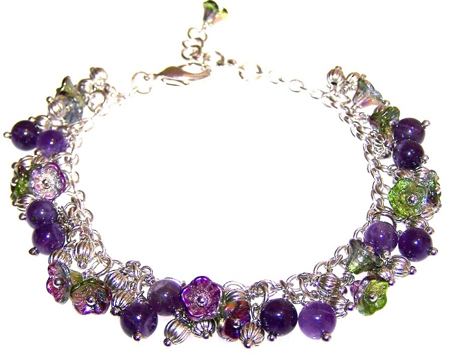 Magic Orchid Flower Bracelet