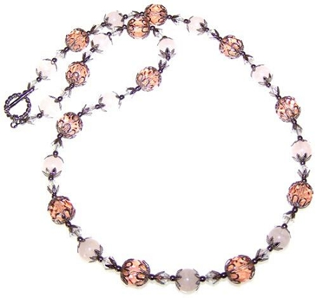 Passionate Embrace Necklace Free Beaded Jewelry Making Pattern