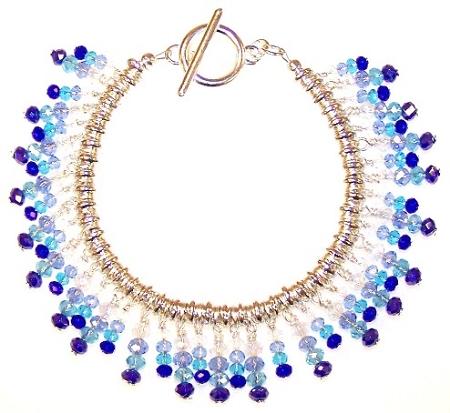 Shooting Stars Bracelet Free Beaded Jewelry Making Pattern