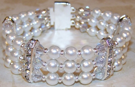 Simple Elegance Bracelet Free Beaded Jewelry Making Pattern