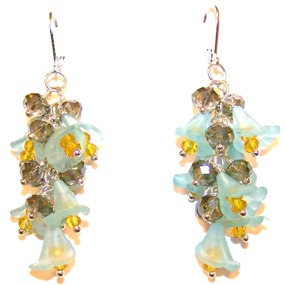 Turquoise Temptation Earrings Free Beaded Jewelry Making Pattern