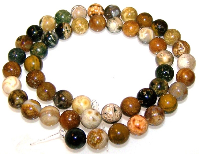 8mm Gemstone Beads for Rosaries