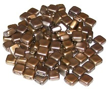 Czech Glass Tile Beads
