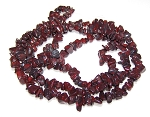 1 Strand of Semiprecious Gemstone Chip Beads - Brecciated Jasper