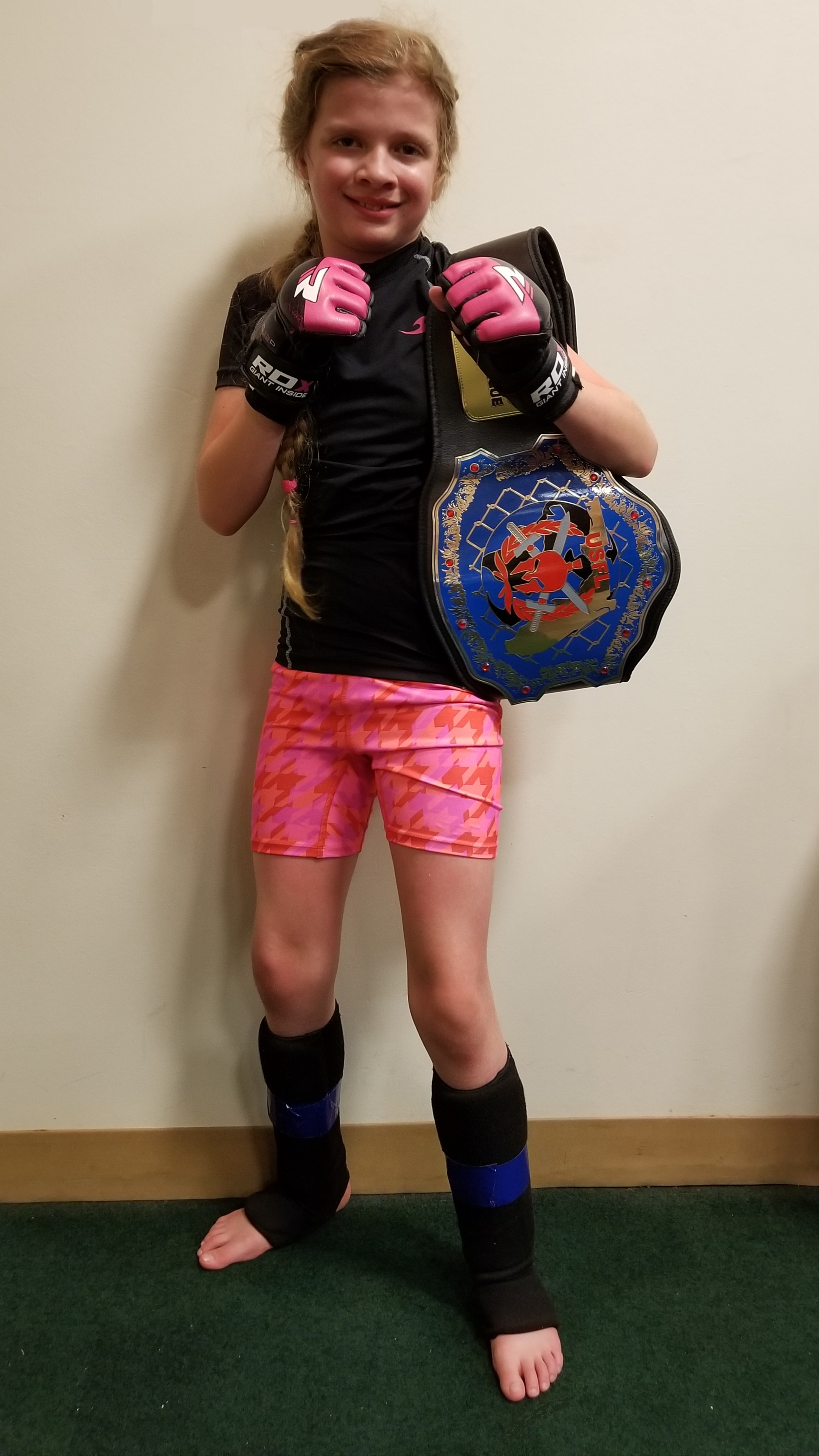 Danielle Connors at USFL Sport MMA