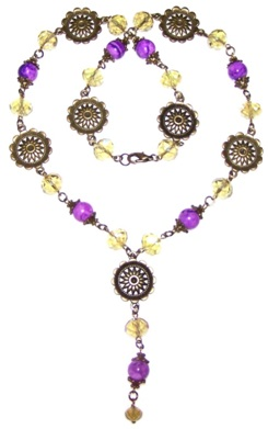 Enchanting Sunshine Necklace Free Beaded Jewelry Making Pattern