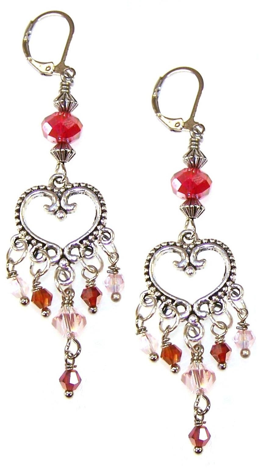 Everlasting Romance Earrings Free Beaded Jewelry Making Pattern