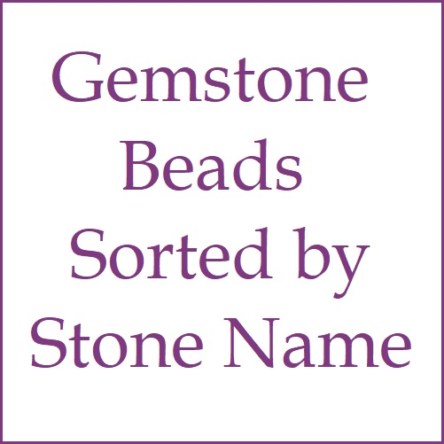 Gemstone Beads - Sort by Stone Name