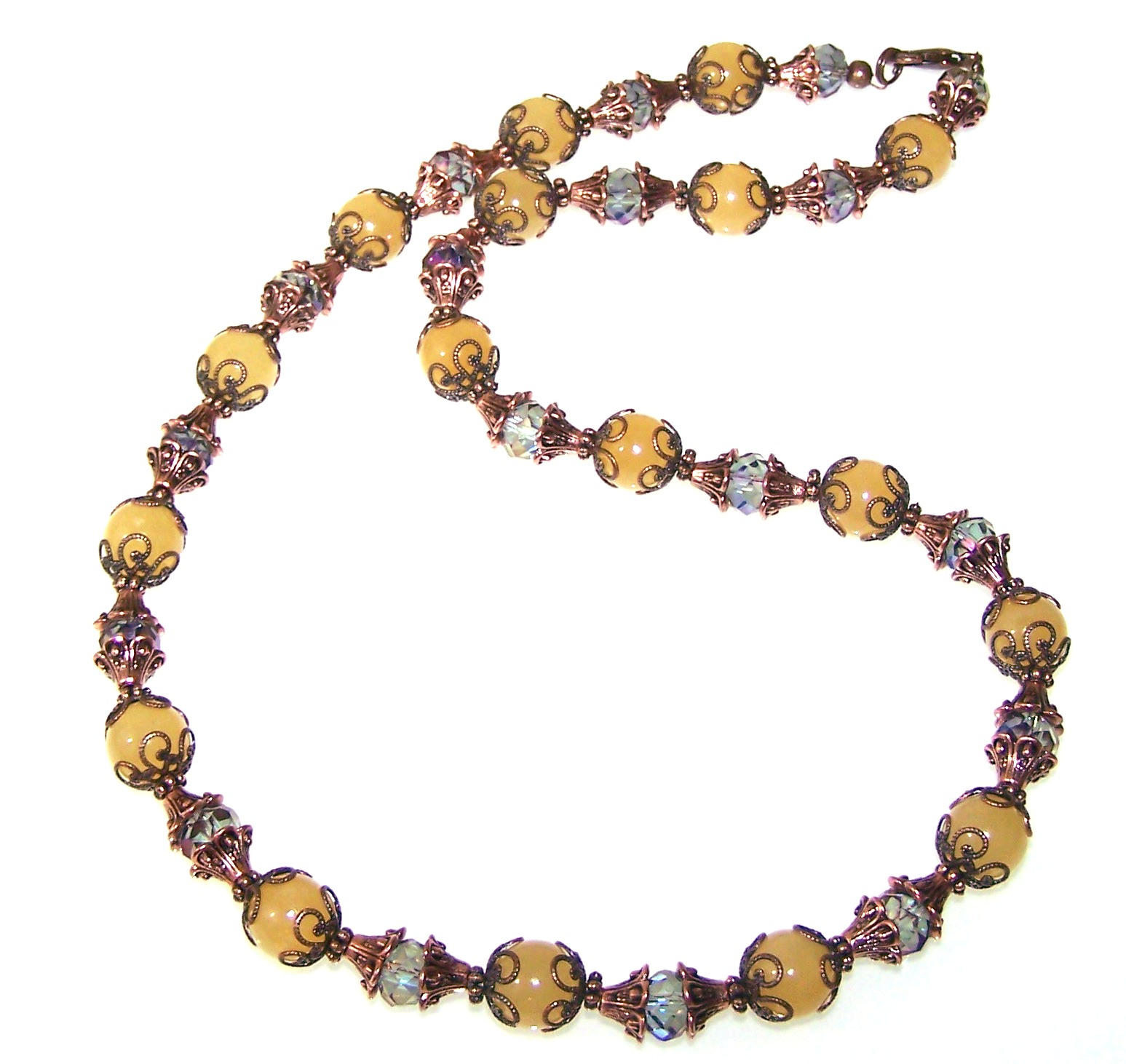 Harmony Necklace Free Beaded Jewelry Making Pattern
