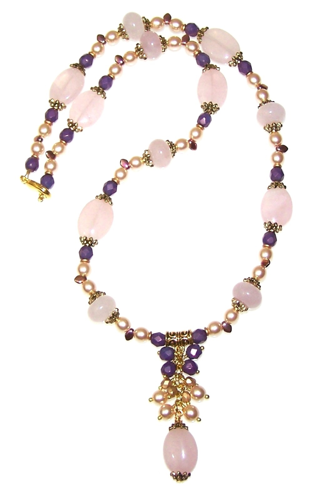 Heavenly Drops Necklace Free Beaded Jewelry Making Pattern