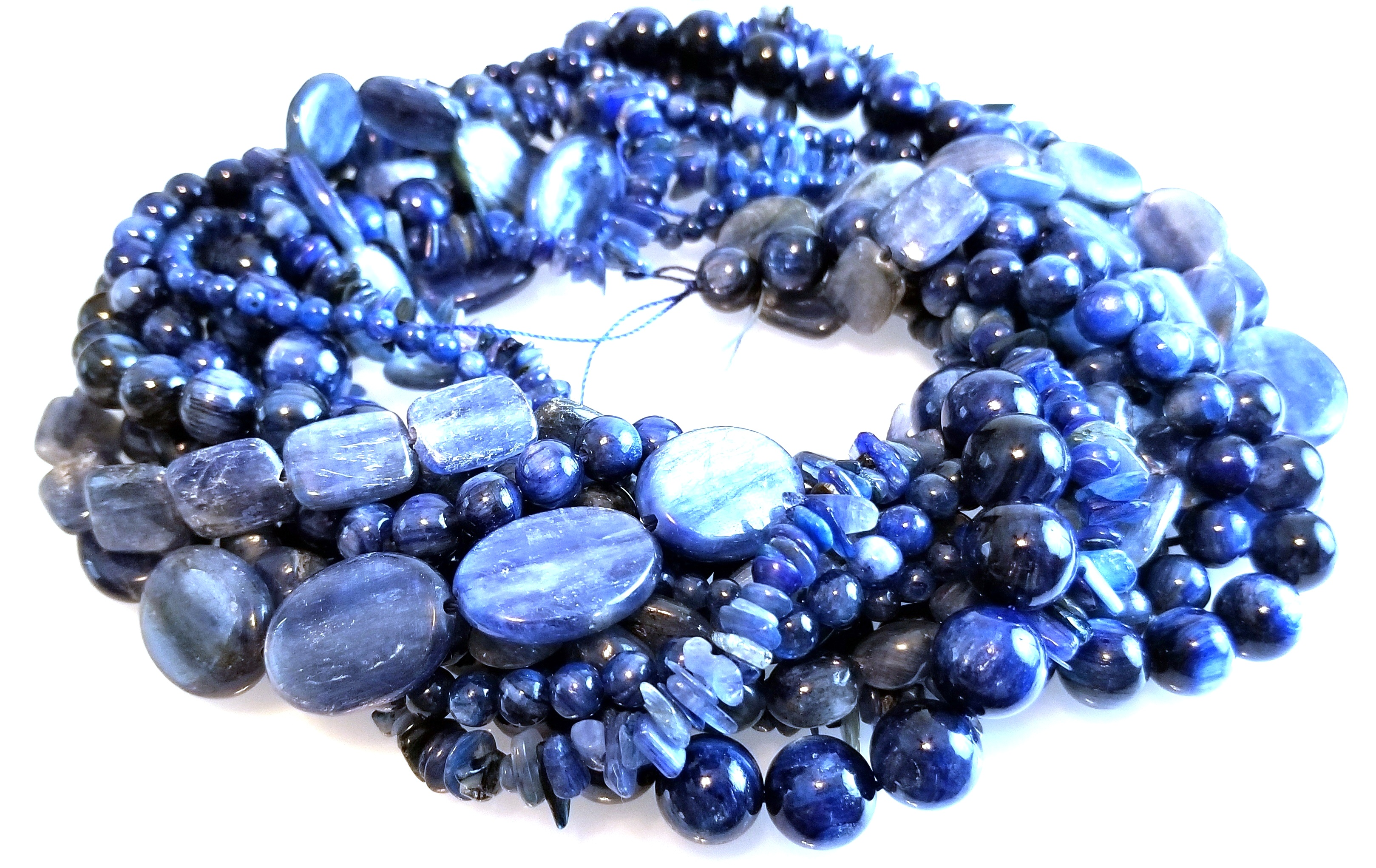 Kyanite Semiprecious Gemstone Bead Assortment