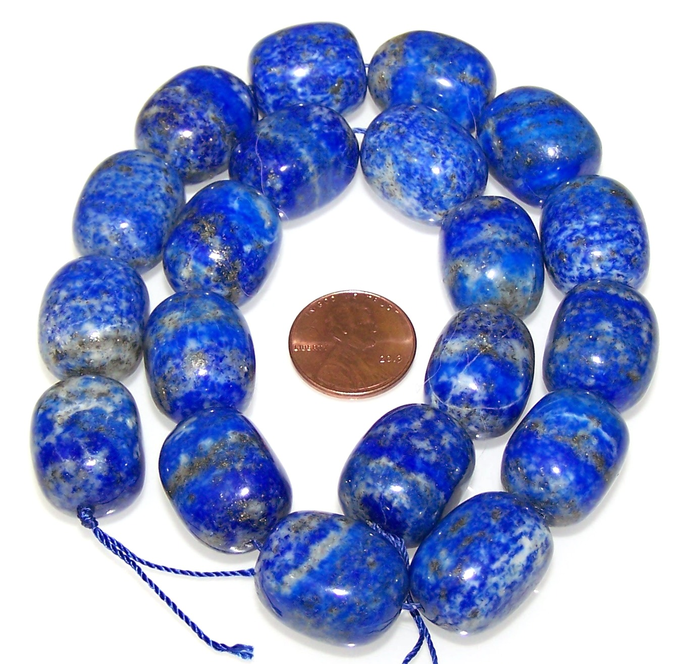 Lapis Lazuli Nuggets Lapis Lazuli Plain Smooth Nugget Beads Quality AAA
