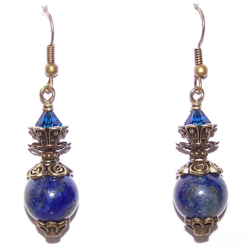 Lunar Elegance Earrings Free Beaded Jewelry Making Pattern