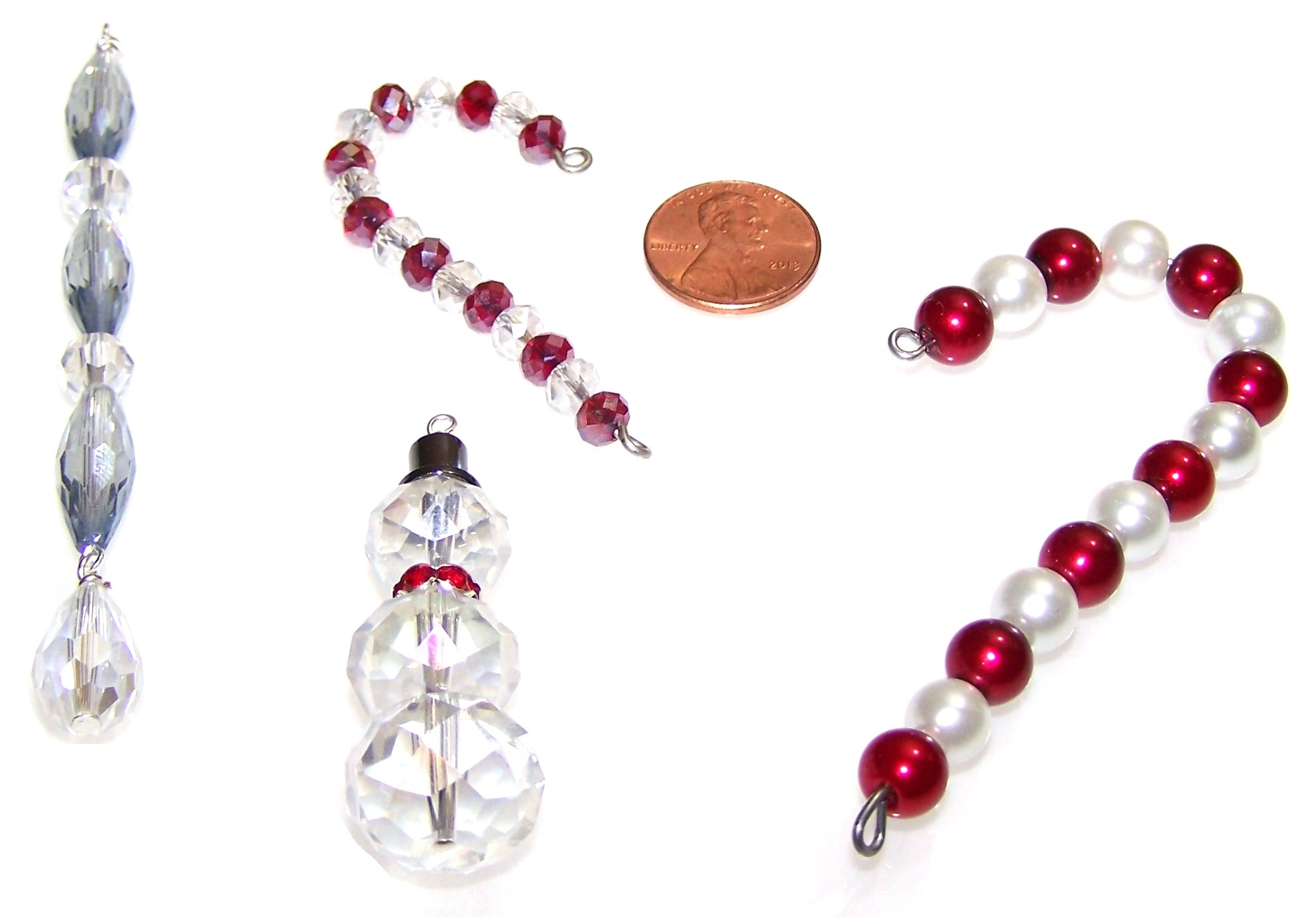 Mini Beaded Christmas Ornament Making Kits Bead 3