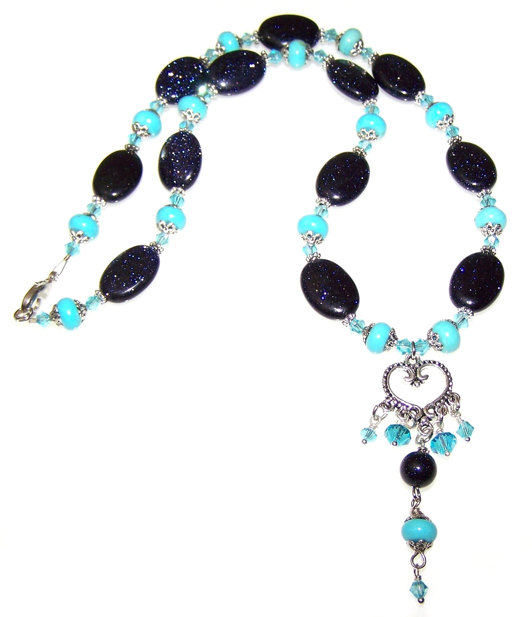 Moons Embrace Necklace Free Beaded Jewelry Making Pattern