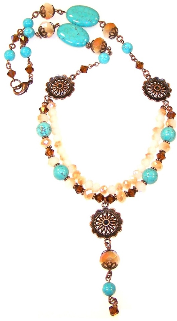 Natures Essence Necklace Free Beaded Jewelry Making Pattern