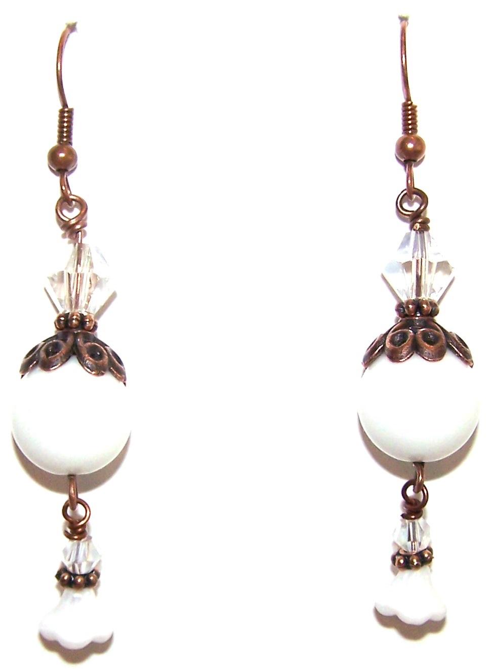 Precious Trinkets Earrings Free Beaded Jewelry Making Pattern