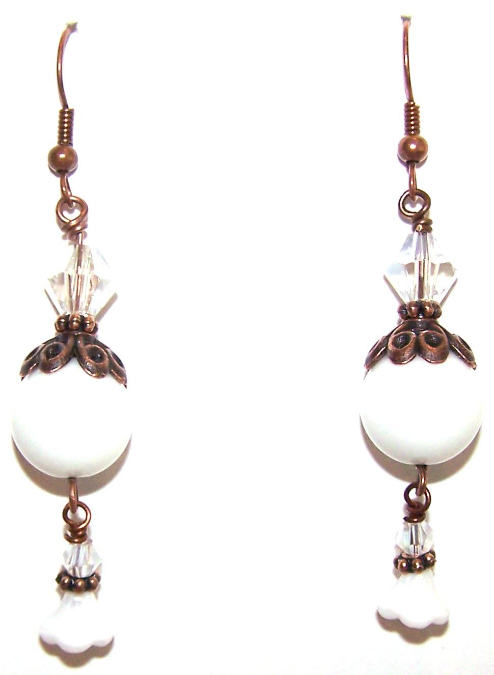 Precious Trinkets Earrings Beaded Jewelry Making Kit