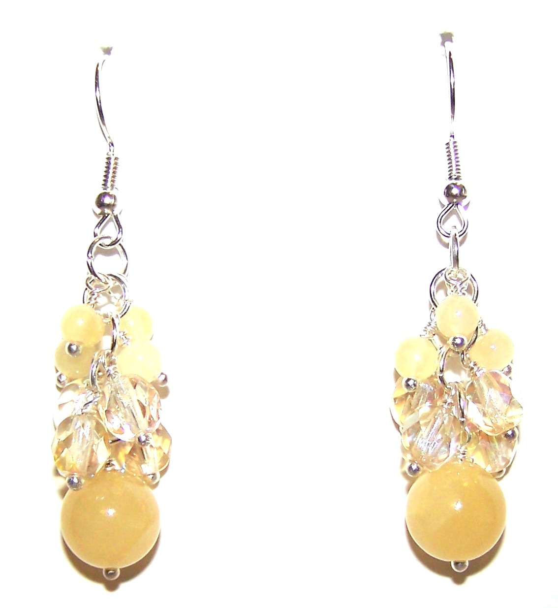 Rays of Sunshine with Yellow Calcite