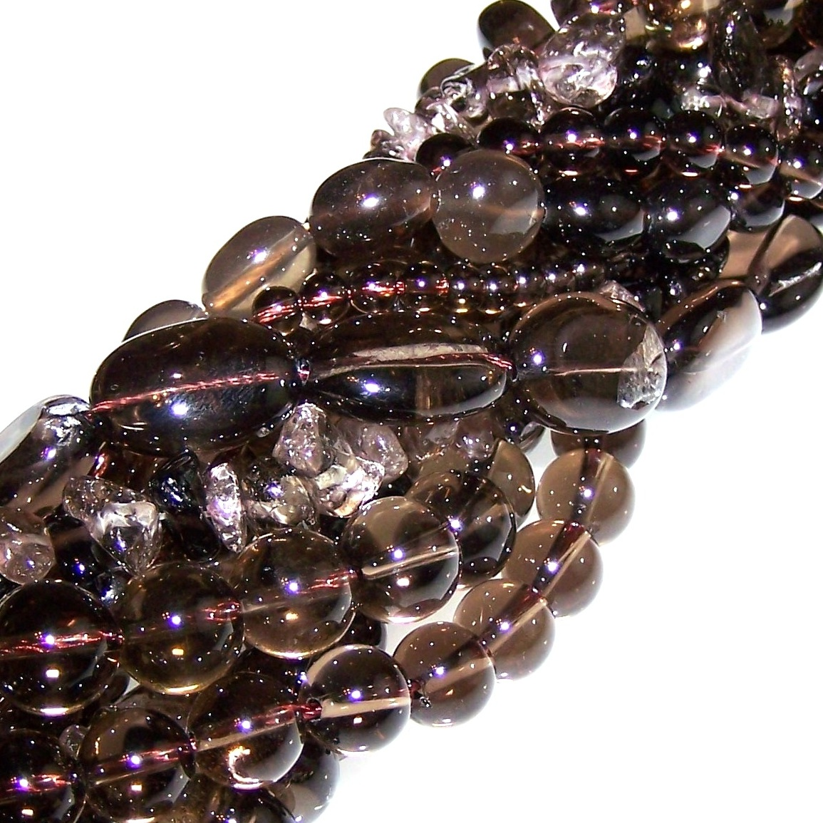 Smoky Quartz Gemstone Beads