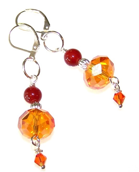 Sunfire Earrings Free Beaded Jewelry Making Pattern