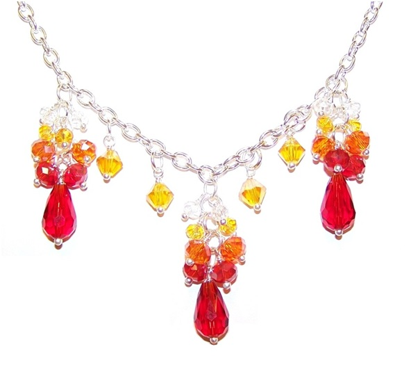 Sunny Rays Necklace Free Beaded Jewelry Making Pattern