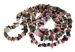 1 Strand of Semiprecious Gemstone Chip Beads - Tourmaline