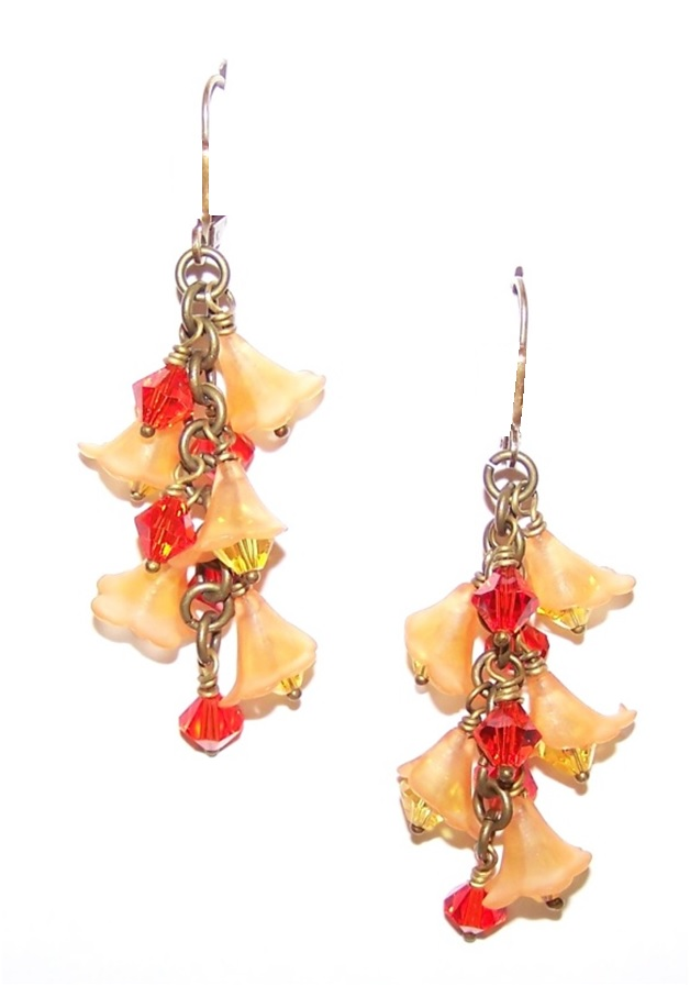Tropical Paradise Earrings Free Beaded Jewelry Making Pattern